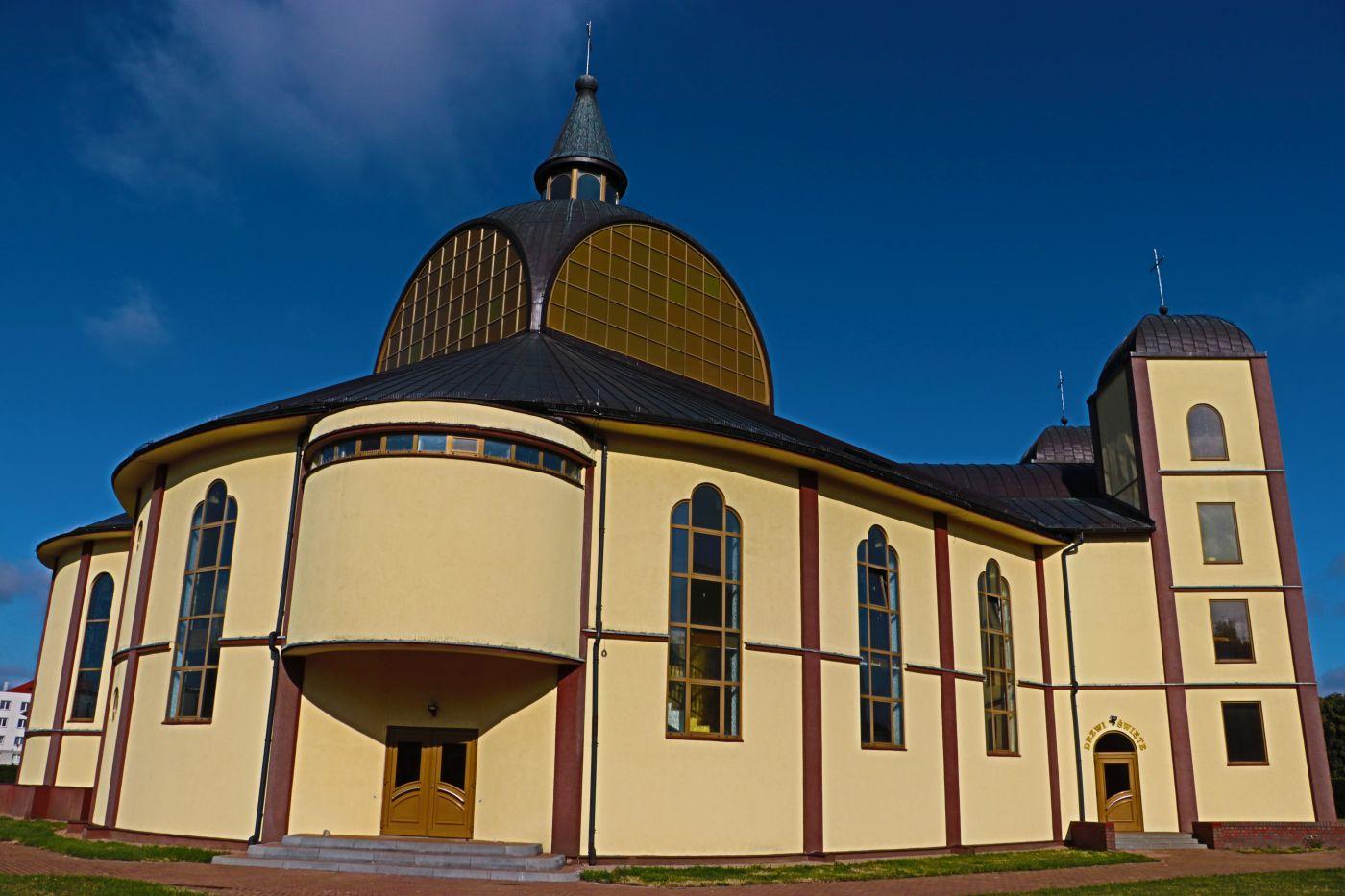 Ilustracja do informacji: Pielgrzymka Mężczyzn ze wsi Św. Wojciech do sanktuarium w Międzyrzeczu