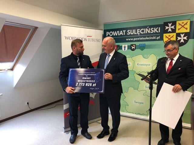 Ilustracja do informacji: Mamy prawie 2,8 mln. zł na budowę dróg w Międzyrzeczu!