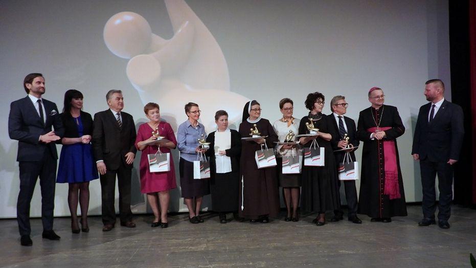 Ilustracja do informacji: Gala Lubuski Samarytanin. Jednym z bohaterów był dr Wojciech Strugała