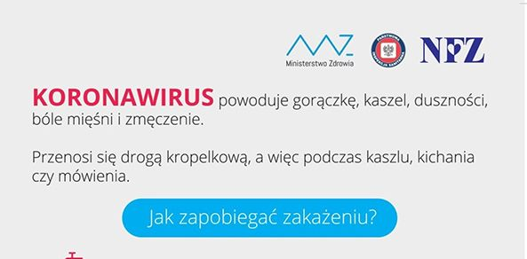 Ilustracja do informacji: Koronawirus: Przestrzegaj higieny