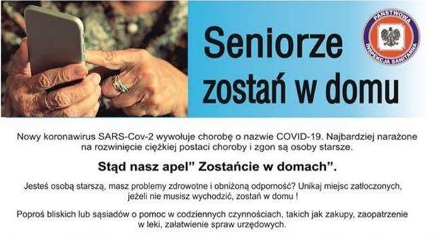 Ilustracja do informacji: Koronawirus: Pamiętajmy o seniorach