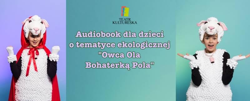 Ilustracja do informacji:  Darmowy audiobook dla dzieci o tematyce ekologicznej