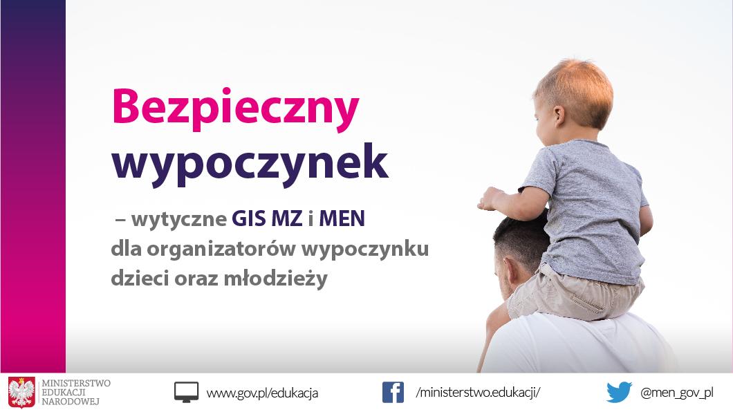 Ilustracja do informacji: Wytyczne dla organizatorów wypoczynku dzieci i młodzieży