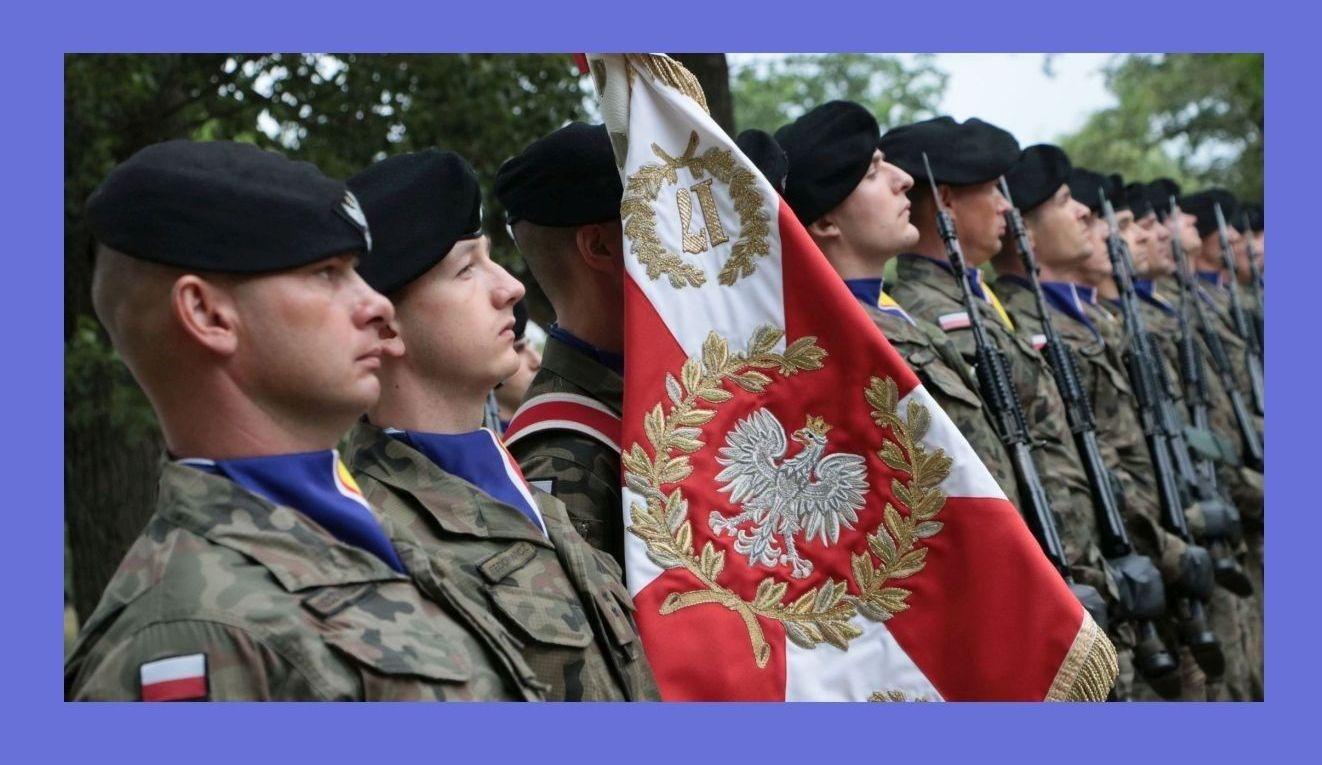Ilustracja do informacji: Życzenia z okazji Święta Wojska Polskiego