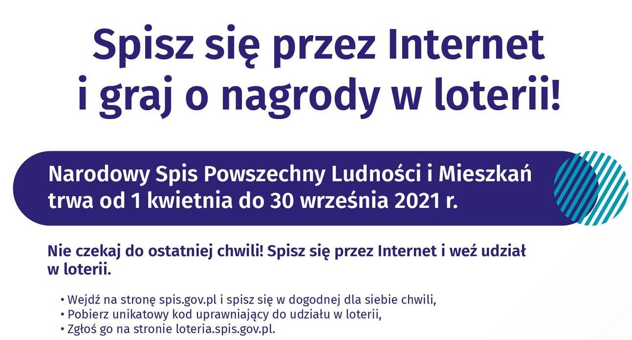 Ilustracja do informacji: Ruszyła Loteria Spisowa!