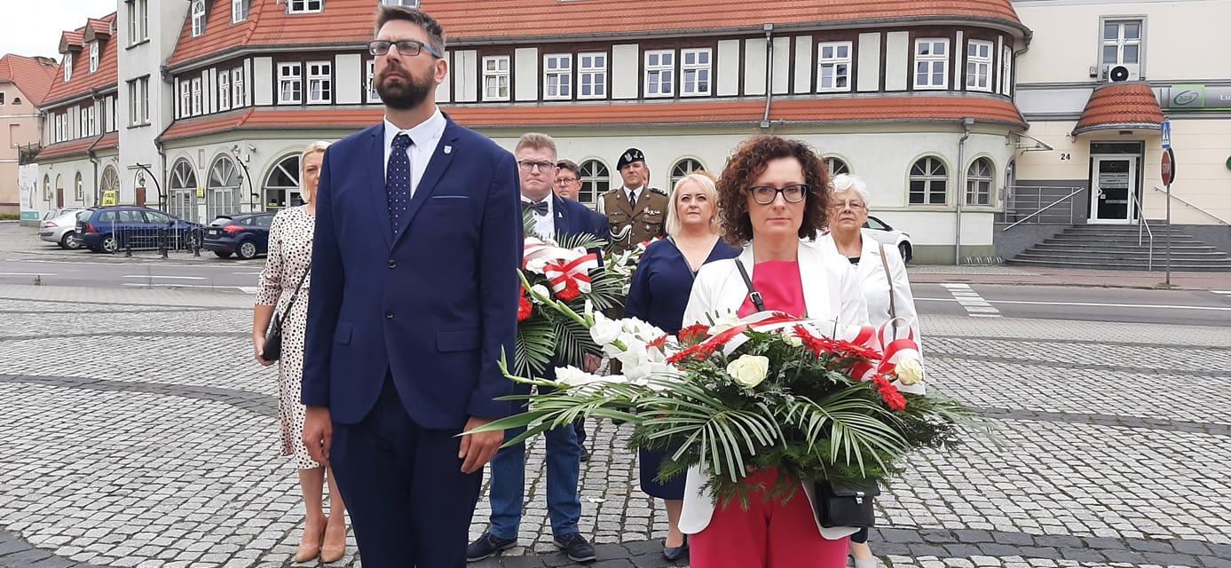 Ilustracja do informacji: Międzyrzecz pamiętał o 77. rocznicy wybuchu Powstania Warszawskiego
