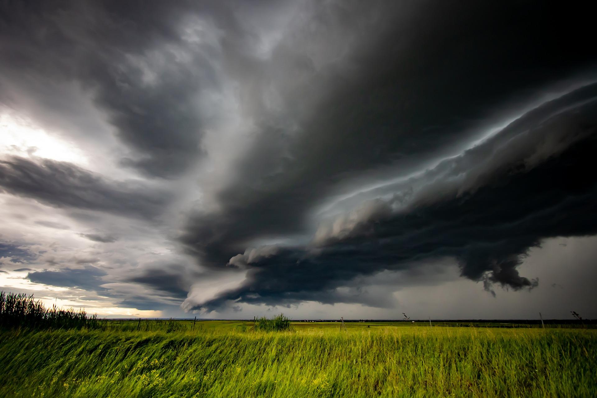 Ilustracja do informacji: Ostrzeżenie przed silnym wiatrem