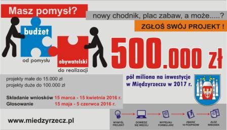 Ilustracja do informacji: Budżet Obywatelski- głosowanie