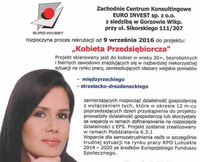 """Ilustracja do informacji: Ruszył projekt """"Kobieta Przedsiębiorcza"""""""