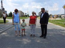 Miniatura zdjęcia: Oficjalne otwarcie drogi w Bukowcu